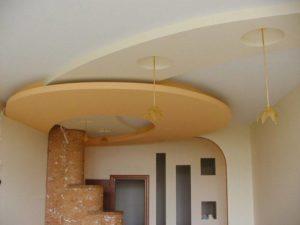 Отделка квартир Гипсокартонные потолки