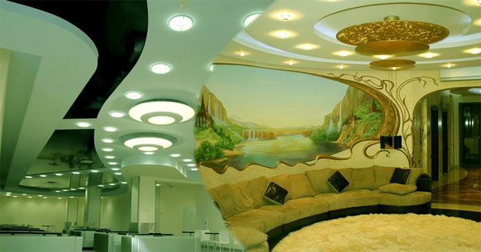 Натяжные потолки в Москве