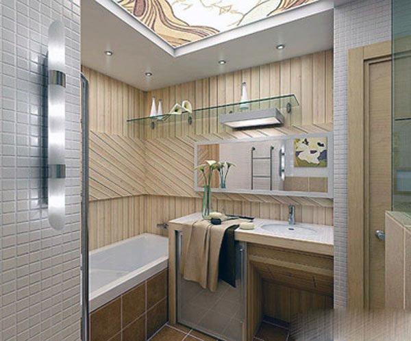 Как расширить ванную комнату