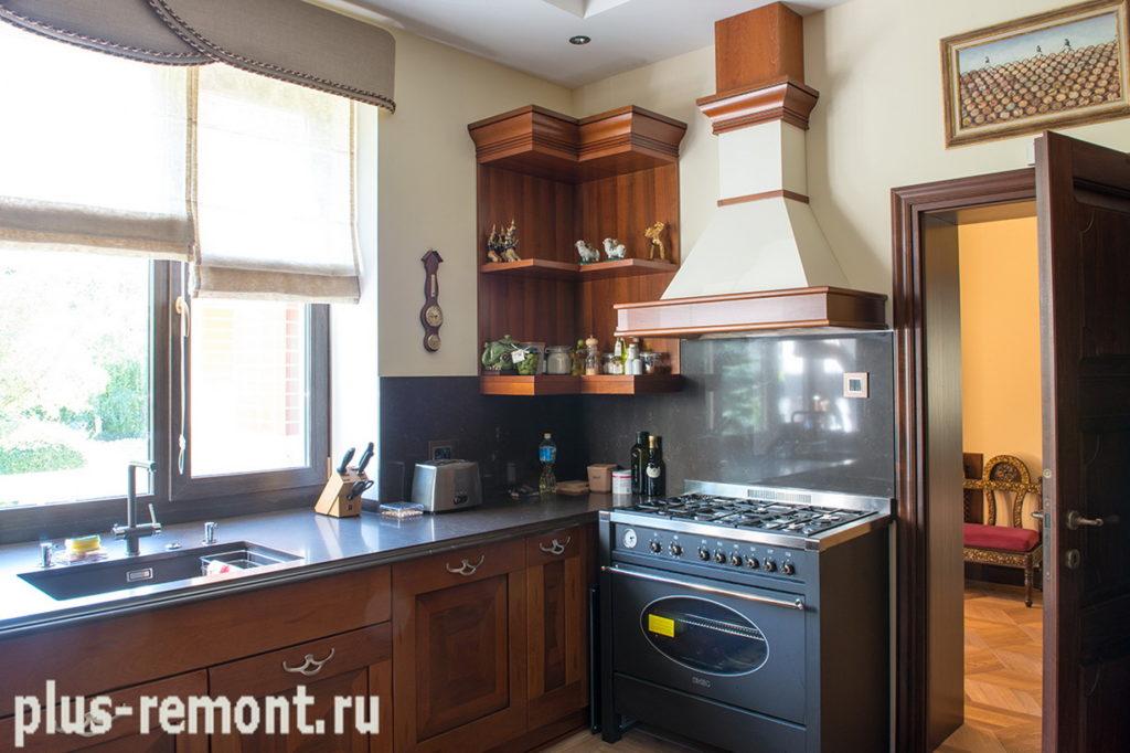 Ремонт кухни от компании Плюс-Ремонт в Москве
